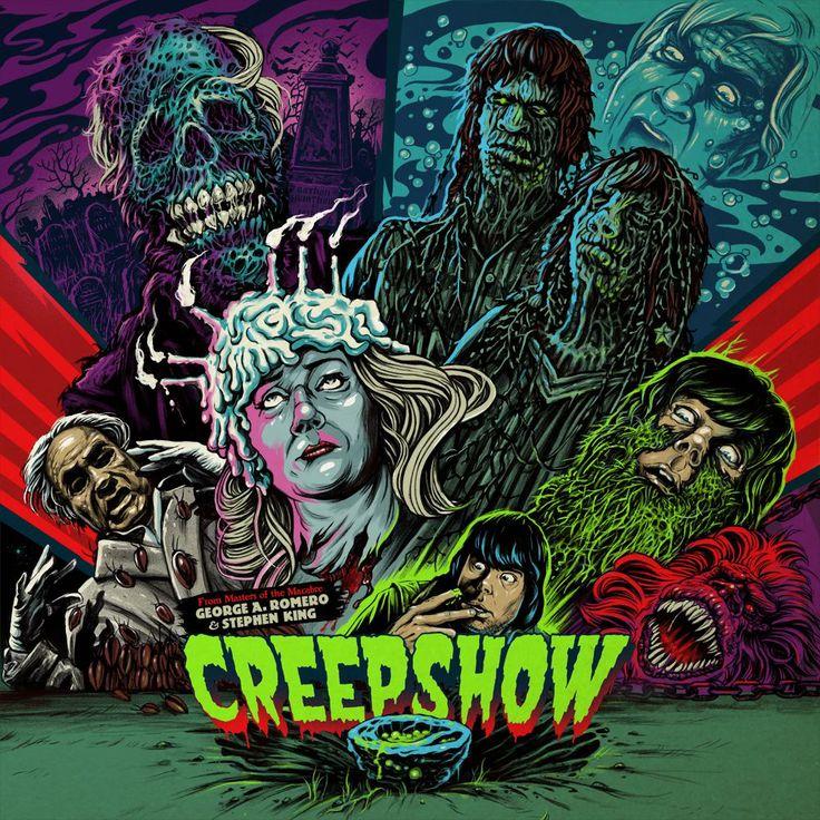 Wicked vinyl art for Creepshow.