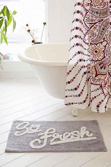 So fresh bath mat - Urban Outfitters