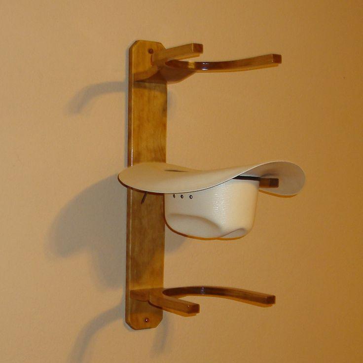 Wooden cowboy hat rack plans woodworking projects plans - Perchero para sombreros ...