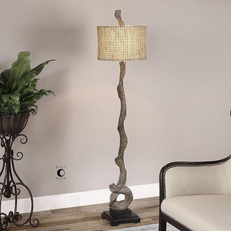 Driftwood Floor Lamp