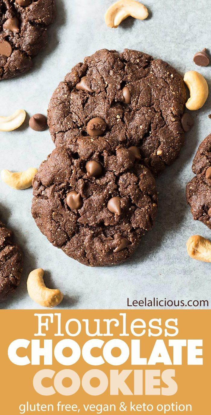 These Amazing Flourless Chocolate Cookies Are Made With Only 5