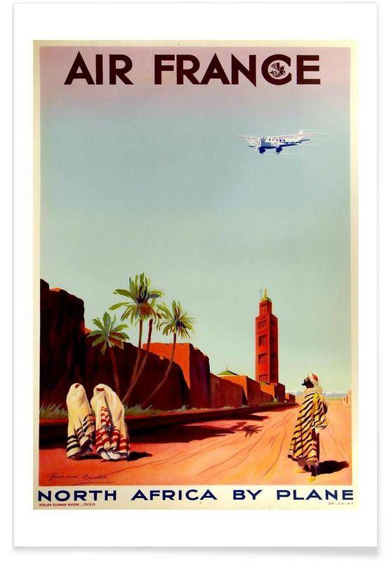 africa1 en Affiche premium par Robert Livingston   JUNIQE