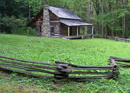 From Wikiwand: Cook Cabin in Little Cataloochee