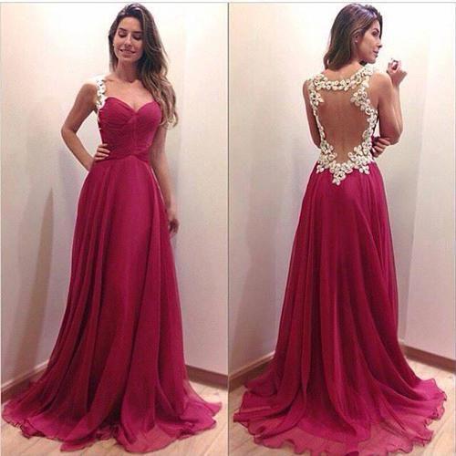 maroon prom dresses | Tumblr