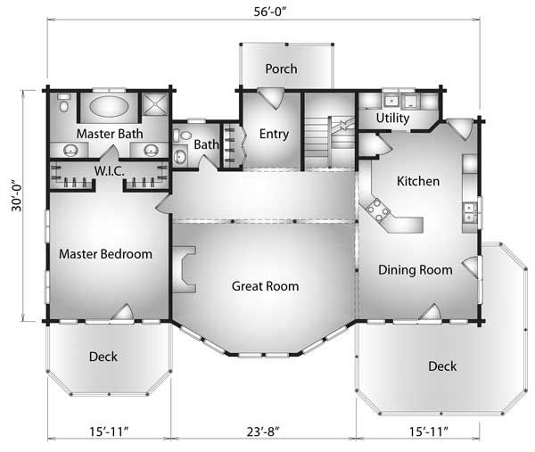 1000 Images About Home Floor Plans On Pinterest House