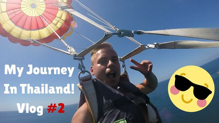 My Journey In Thailand! | Vlog # 2 (Phuket, Big Buddha, Water activities)