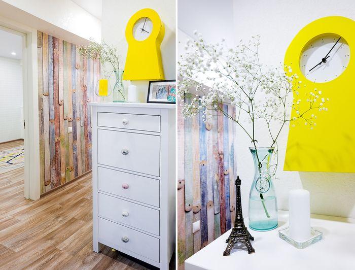 Скандинавская квартира 43 м² для семьи в Астрахани – Красивые квартиры