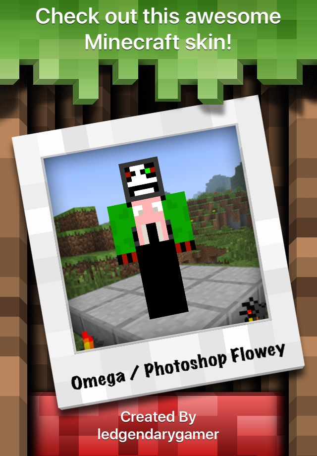 Minecraft Photoshop : minecraft, photoshop, Omega, Photoshop, Flowey,, Http://skins.minecraftexplorer.com/J4H4BJ53ji, #minecraftskin, Minecraft, Skin,, Skins, Cool,, Flowey, Flower