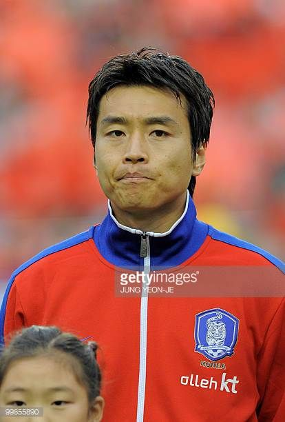 South Korean national football team forward Lee DongGook during a friendly football match with Ecuador in Seoul on May 16 2010 ahead the FIFA World...
