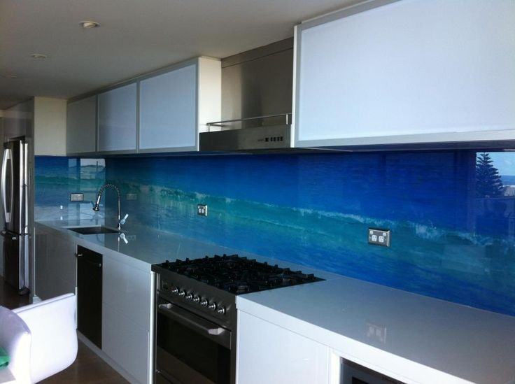53 best Splashbacks images on Pinterest Cheap kitchen, Cottage - küchenrückwände aus glas