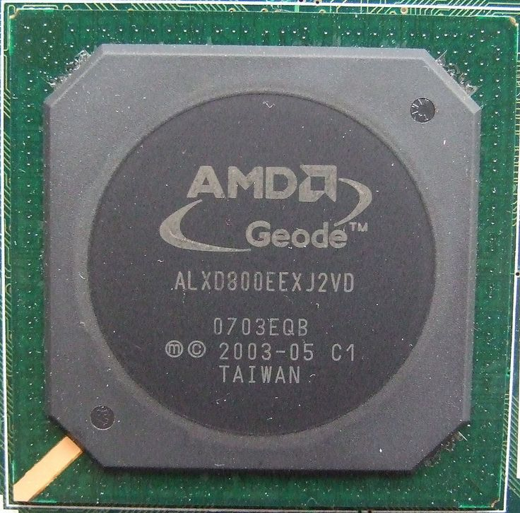 AMD Geode LX 800 CPU - System-on-a-chip - Wikipedia
