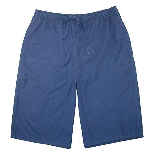 Ten West Apparel Mens Knit Mens Sleep Shorts with Pockets  These super soft easy care sleep shorts feature an elastic waist with drawstring to adjust for a perfect fit. The convenient side seam pockets and longer length will make these a favorite for sleeping, lounging and more. Elastic waist with drawstring Elastic waist with drawstring Side seam pockets Elastic waist with drawstring Elastic waist with drawstring Side seam pockets Light weight for cool comfort Elastic waist with dra..