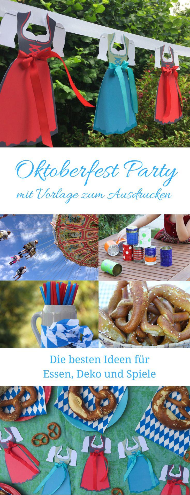Oktoberfest Dirndl und Partyideen – Kathrin Schneider-Lemke