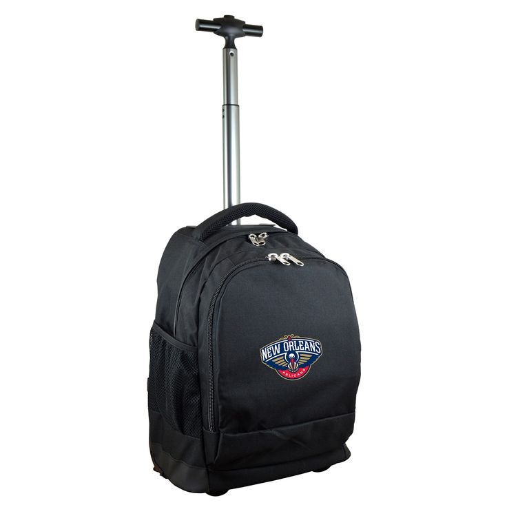Denco Sports Mojo New Orleans Pelicans Premium Nylon Wheeled Backpack