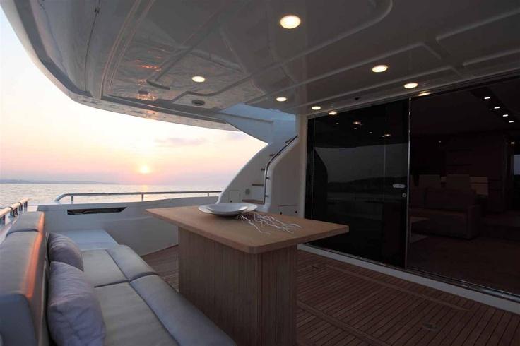 External view Ferretti Yachts - Ferretti 720 #yacht #luxury #ferretti