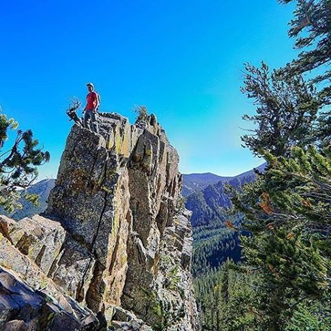 "@unwearytraveler : ""Scouting some fresh lines for skiing and trekking in the San Francisco Peaks this winter. Can't wait to break out the snow gear!""@hillsoundequipment #winterconquered #hillsound 📸@thedirtbagtrapezist 📷: @unwearytraveler"