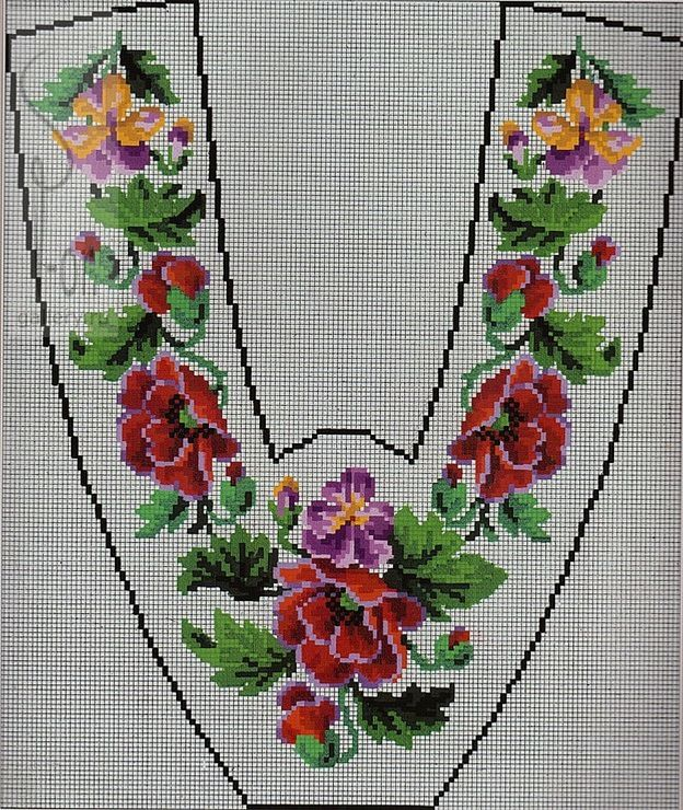 Berlin WoolWork Slipper Pattern