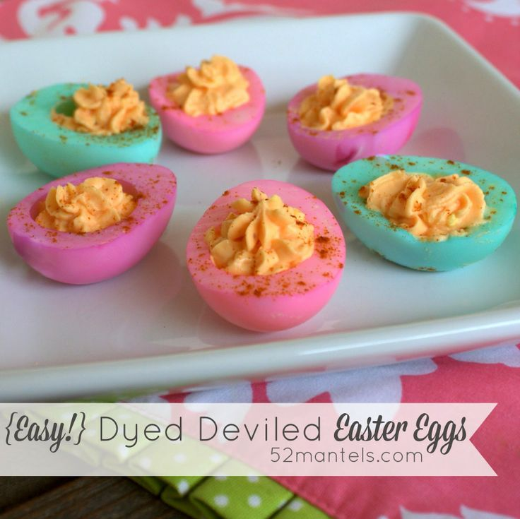 1000 images about easter on pinterest bunny mask peeps for Table 52 deviled eggs recipe