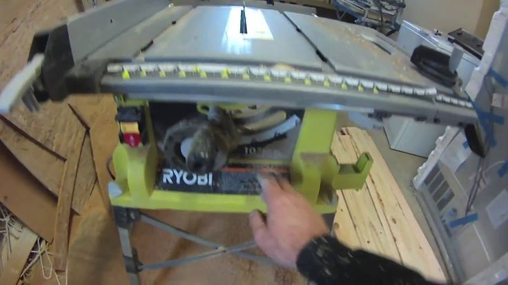 "Ryobi 10"" Table Saw Review"
