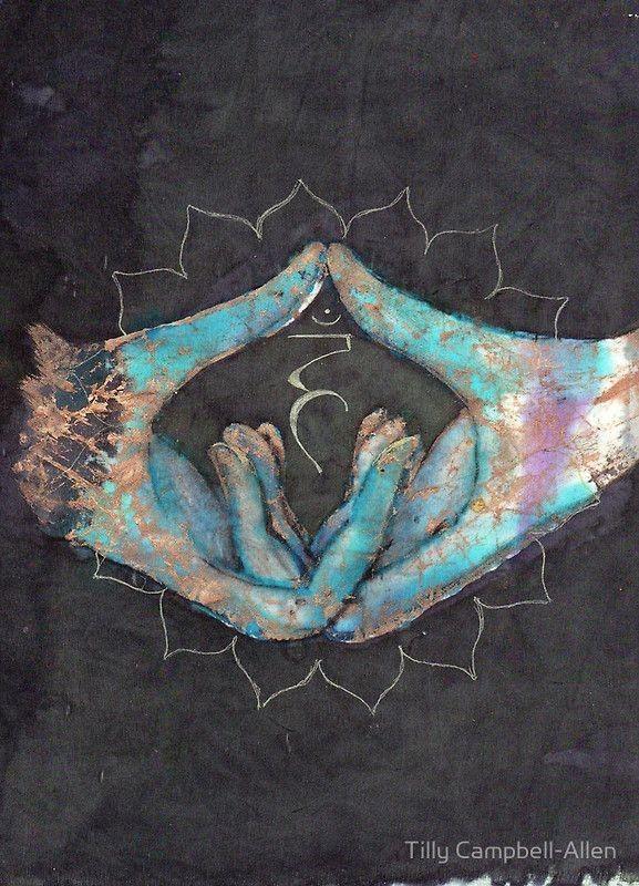 Vishuddha - throat chakra mudra by Tilly Campbell-Allen Abrir el Chakra de la Garganta (azul) Este chakra se basa en la auto-expresión y comunicación . Cuando el chakra está abierto, expresarte es fácil, y el arte parece ser una gran manera de hacer esto. Si se trata de menores de activos: se tiende a no hablar demasiado, por lo que se clasifican como tímido. Si a menudo miente, este chakra puede ser bloqueada. Si es más activa: se tiende a hablar mucho, que molesta a mucha gente. Tamb...
