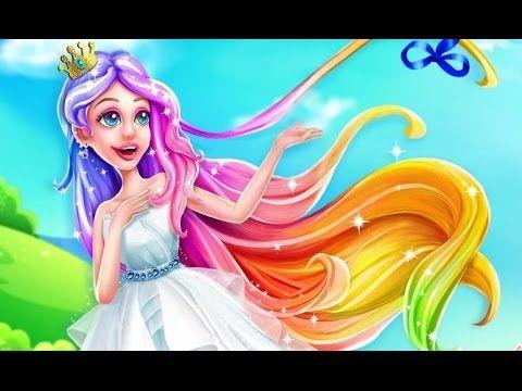 Dreamtopia Princess Hair Salon - Android gameplay Hugs N Hearts  Movie  ...