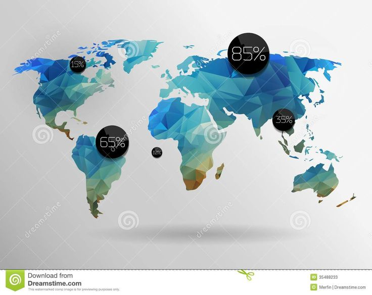 8 best locaria world map images on pinterest cards world maps world map background in polygonal style vector background buy this stock vector on shutterstock find other images gumiabroncs Image collections