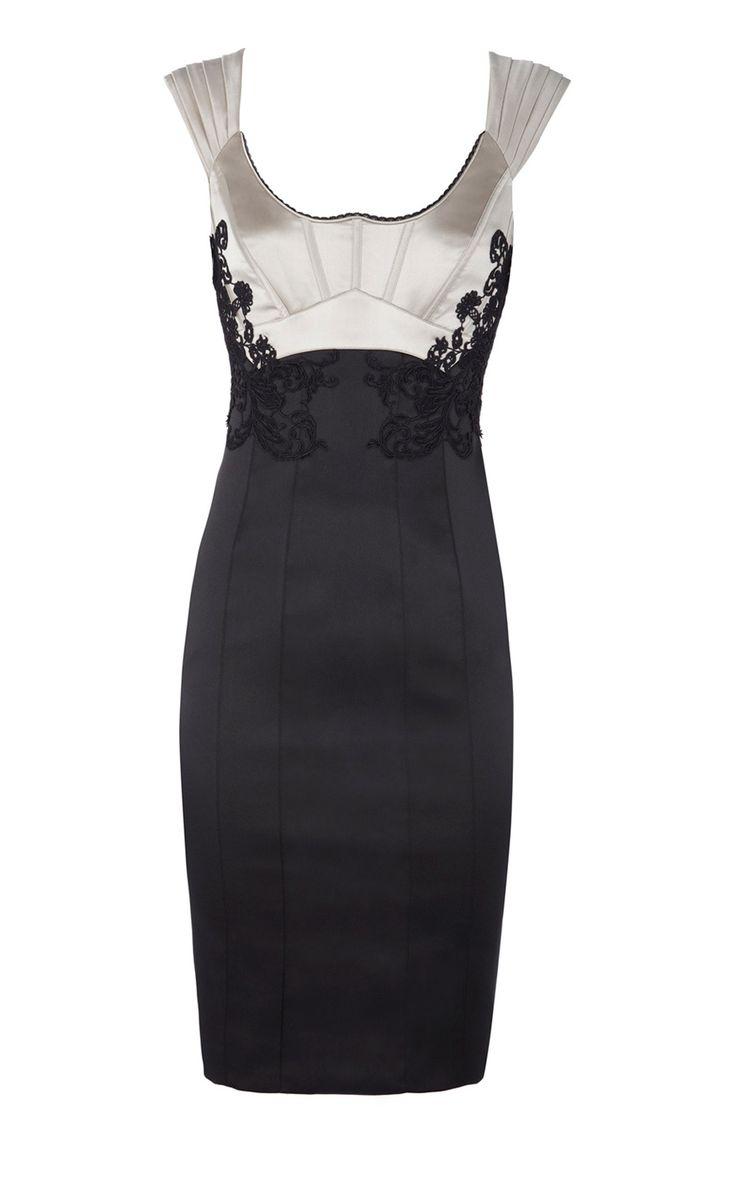 Karen millen ladylike lace dress