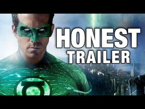 Honest Green Lantern Movie Trailer - #funny #movie #trailer