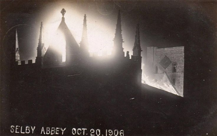 Selby Abbey 1905-1906 - Selby Town