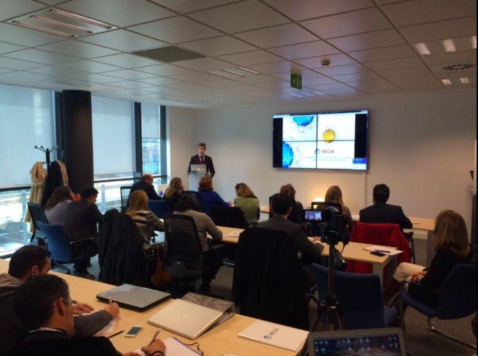 Carlos Sáiz, Socio de Ecix Group, se encargó del eBrunch del 29 de enero de 2015 sobre la nueva ISO de 'Compliance' y el modelo AENOR de prevención. Una vez más, ¡gran asistencia de participantes!