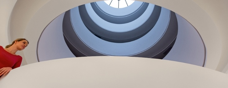 Modern art gallery NEDBALKA will remind you famous Guggenheim museum in New York.