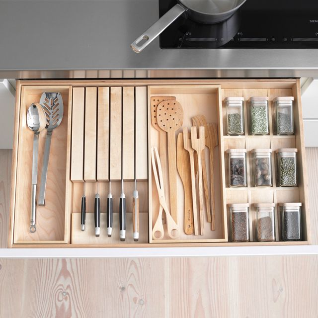 Great way to organize your kitchen drawers. $30.