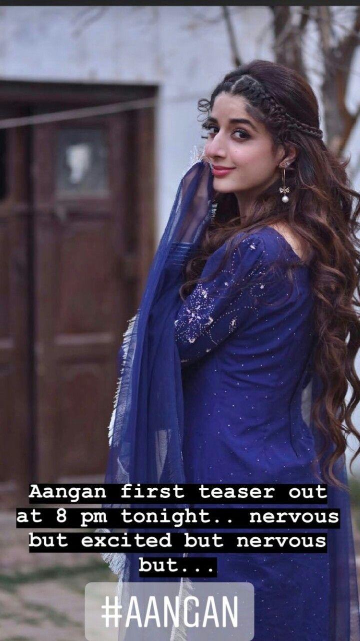 Mawra in AANGAN | #angan in 2019 | Prettiest actresses