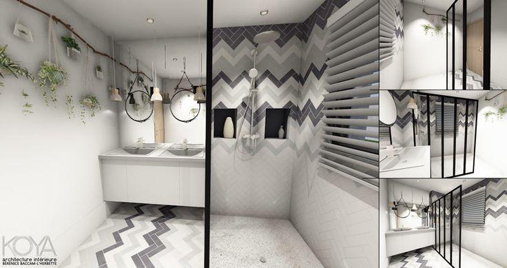 les 25 meilleures id es de la cat gorie salle de bain scandinave sur pinterest id es de. Black Bedroom Furniture Sets. Home Design Ideas