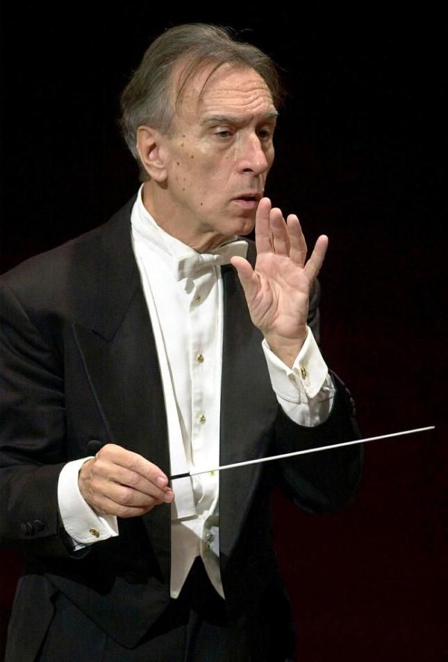 Claudio Abbado (1933-2014), was an Italian conductor. He served as music director of the La Scala opera house in Milan,