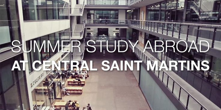 UAL - Central Saint Martins: Summer Study Abroad