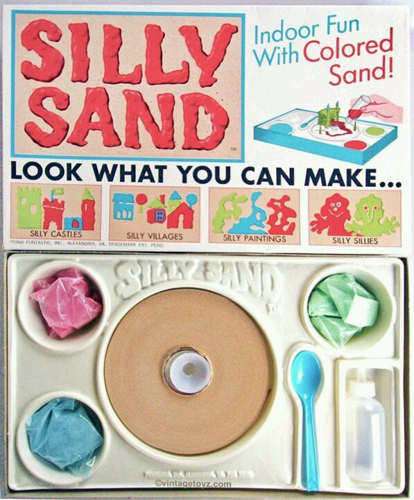 1966 Silly Sand - I loved Silly Sand!!