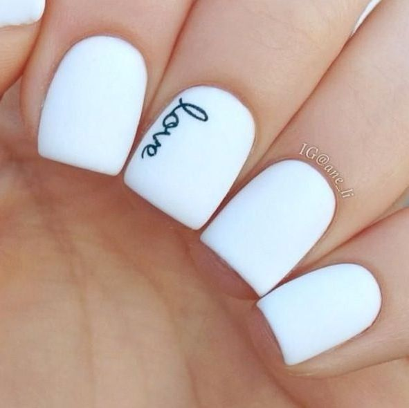 The 25+ best White acrylic nails ideas on Pinterest | Acrylics, Matte white  nails and Classy acrylic nails - The 25+ Best White Acrylic Nails Ideas On Pinterest Acrylics