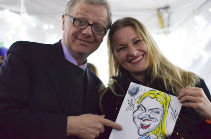Caricatures by London Caricaturist at Party in London