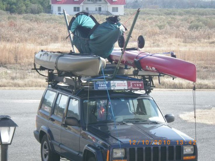 Byer Hammock Stand On A Roof Rack 4x4 Camping Truck