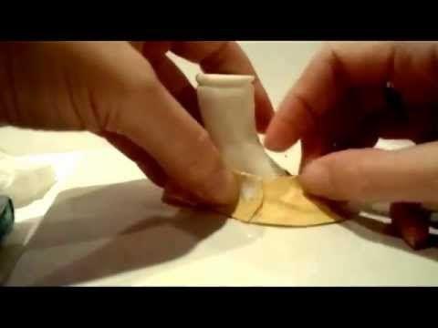 Туфельки для куклы из ткани. Часть 1.mp4 - YouTube