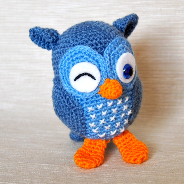 Crochet Owl Pattern : crochet amiguria amigurumi amigurumi owl by amiguria crochet patterns ...