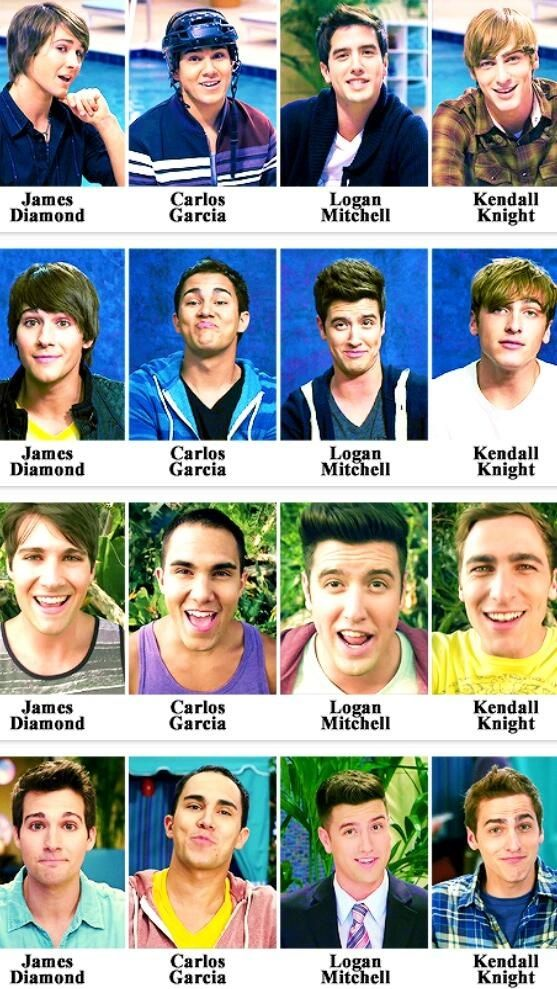 Evolution of Big Time Rush through the seasons! I may or may not be crying
