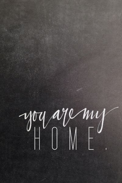 For a while you were like a summer vacation getaway beach house. But now... You are ny home. And I want to stay with you forever.