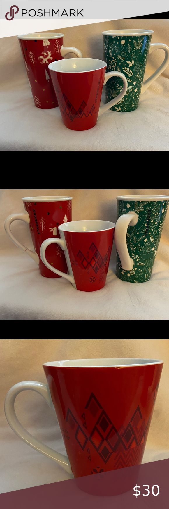 Starbucks Holiday Coffee Mugs in 2020 | Holiday coffee ...