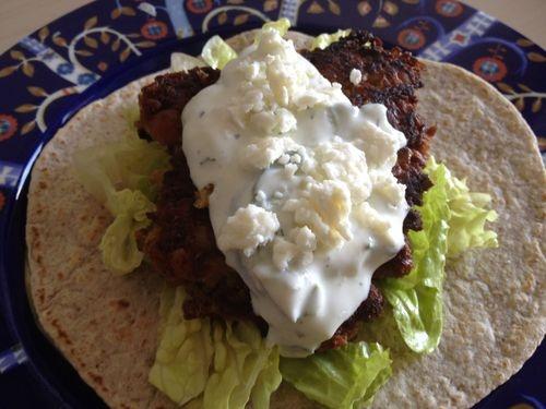 falafel with tzatziki & feta | Paninis, Burgers, & Wraps | Pinterest ...