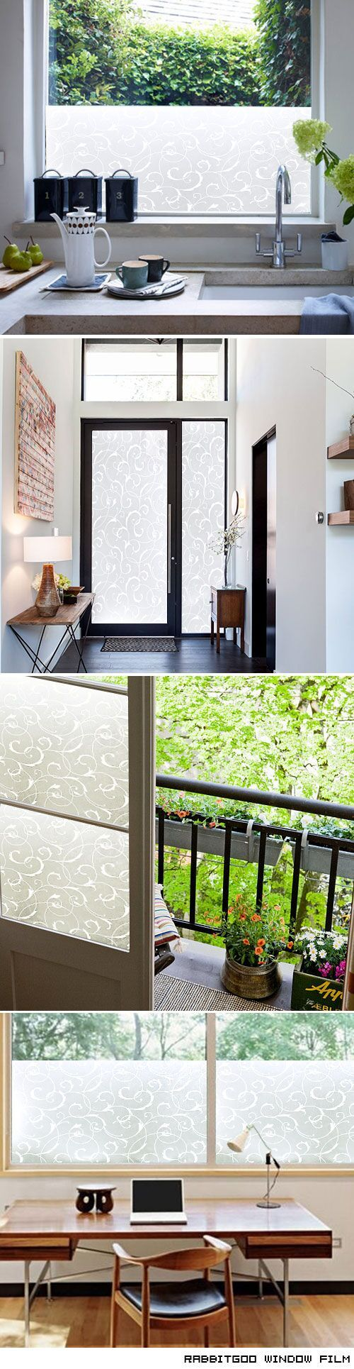 Best Window Treatment Images On Pinterest Window Treatments - Window clings for home privacy