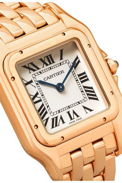 Cartier - Panthère De Cartier Medium 18-karat Pink Gold Watch - Rose gold - one size