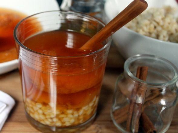 Chilean Mote con Huesillos Recipe  *Read comment on bottom about mote*