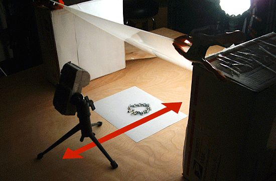 Taking Jewelry Pictures without Professional Equipment tutorial